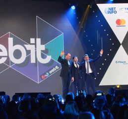 Пламен Русев, с  президент на България (2012-2017) Росен Плевнелиев и президент на България (2017-) Румен Радев демонстрира приемственост в политиката на сцената на Webit