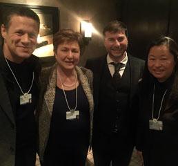 Пламен Русев с бивш еврокомисар и главен изпълнителен директор на Световната банка Кристалина Георгиева
