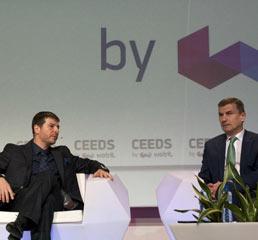 Пламен Русев в разговор с европейския комисар по цифровия единен пазар и вицепрезидент на Европейската комисия Андрус Ансип
