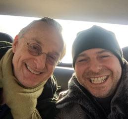 Пламен Русев с известния технологичен журналист, автор и организатор на технологично ориентирани конференции