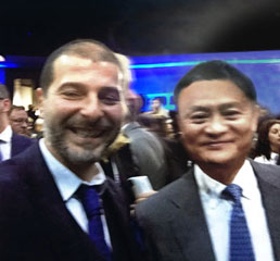 Пламен Русев с основател и изпълнителен председател на Alibaba Jack Ma в Китай