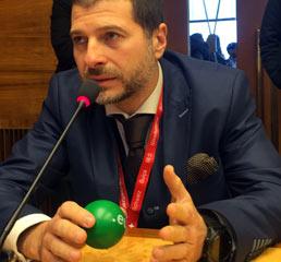 Пламен Русев говори на блокчейн в IGF, ООН, Женева