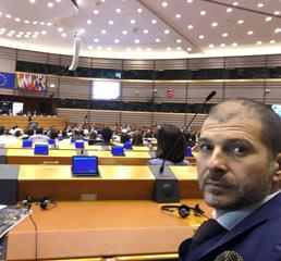 Пламен Русев в Европейския парламент, Брюксел 2017 г.