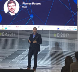 Пламен Русев представя стратегията за интелигентна специализация на ЦИЕ Европа на Правителствения форум Отворени Иновации, Москва 2017