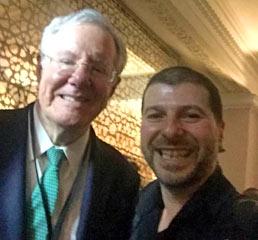 Пламен Русев със Стив Форбс - Forbes Media и списание Forbes
