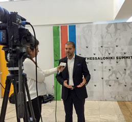 Пламен Русев, в интервю след свое изказване на сцената на Срещата на Върха в Солун
