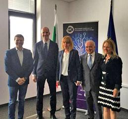 Пламен Русев приветства директора на EIT Мартин Керн и лидери от EIC KICs в София на среща с кмета на София и представители на министерствата, академичните среди и иновационната екосистема!