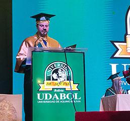 Церемония по награждаване на Пламен Русев за доктор хонорис кауза на един от най-големите университети в Южна Америка - Удабол