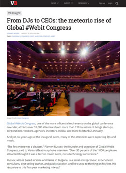 VentureBeat: From DJs to CEOs: the meteoric rise of Global #Webit Congress