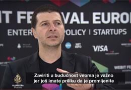 Al Jazeera Business: Интервю за Webit Festival