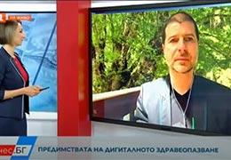 Основателят на Webit Пламен Русев говори ексклузивно за БНТ