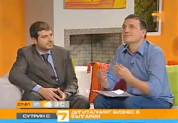 TV7: Plamen Russev about social networks and digital business in Bulgaria