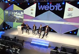 WEBIT.FESTIVAL 2016: Special Ceremony announcing the winner of Webit's Founders Games