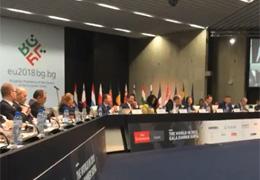 """Пламен Русев сред основните лектори на събитието на The Economist """"Светът през 2018"""" с участието на Европейски комисари и министри."""